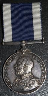 Navy LSGC medal to HMS Pembroke