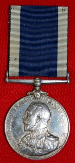 Royal Naval LSGC medal to HMS Conqueror