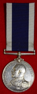 Royal Navy LSGC medal to J.E. Dockwray, HMS Victorious