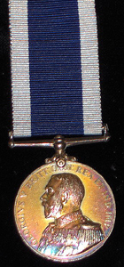 Royal Naval Long Service and Good Conduct medal (George V) to PLY. 8166 H.A. Salter, Private, R.M.L.I