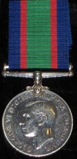 Royal Canadian Naval Volunteer Reserve Long Service medal