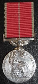 British Empire medal (Geo VI- GRI Type) D.106527 Sgt William J. Campbell