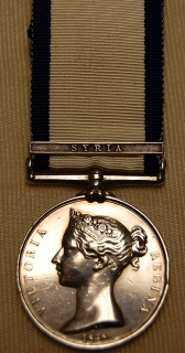 NGS 1799 Syria to JF Guyon, Lieut, R.N.