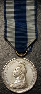 Jubilee medal 1897 in silver