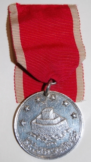 St. Jean d'Acre medal in silver