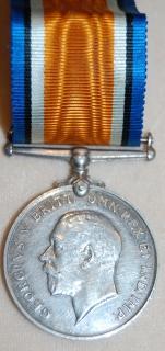 British War medal to 641 Cpl F.F. Jackson, C.A.S.C.
