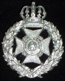 8th Royal Rifles cap badge