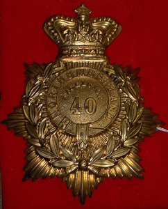 40th Northumberland Bn of Infantry
