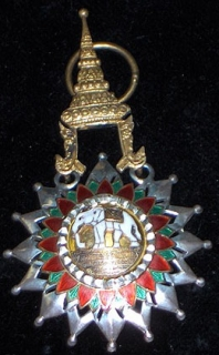 Thailand-Order of the White Elephant – Medals of War
