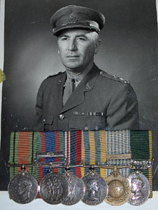 Group of Six to Lieutenant-Colonel Rutherford, Royal Canadian Intelligence Corps