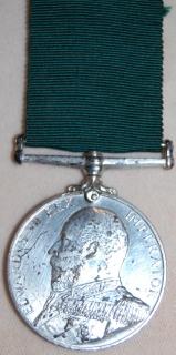 Royal Naval Reserve LSGC medal (Edward VII) to D.1304 R.A. Williams, Sean. R.N.R.