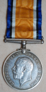 British War medal to CAPT G.M. GIBSON