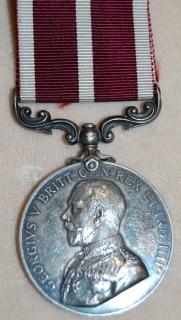Meritorious Service medal (Geo V) C. Sgt H. Benstead, R. Sussex Regt. Possible Chelsea Pensioner