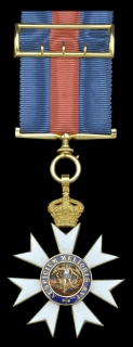 The Most Distinguished Order of St. Michael and St. George, C.M.G., Companion's breast badge in gold