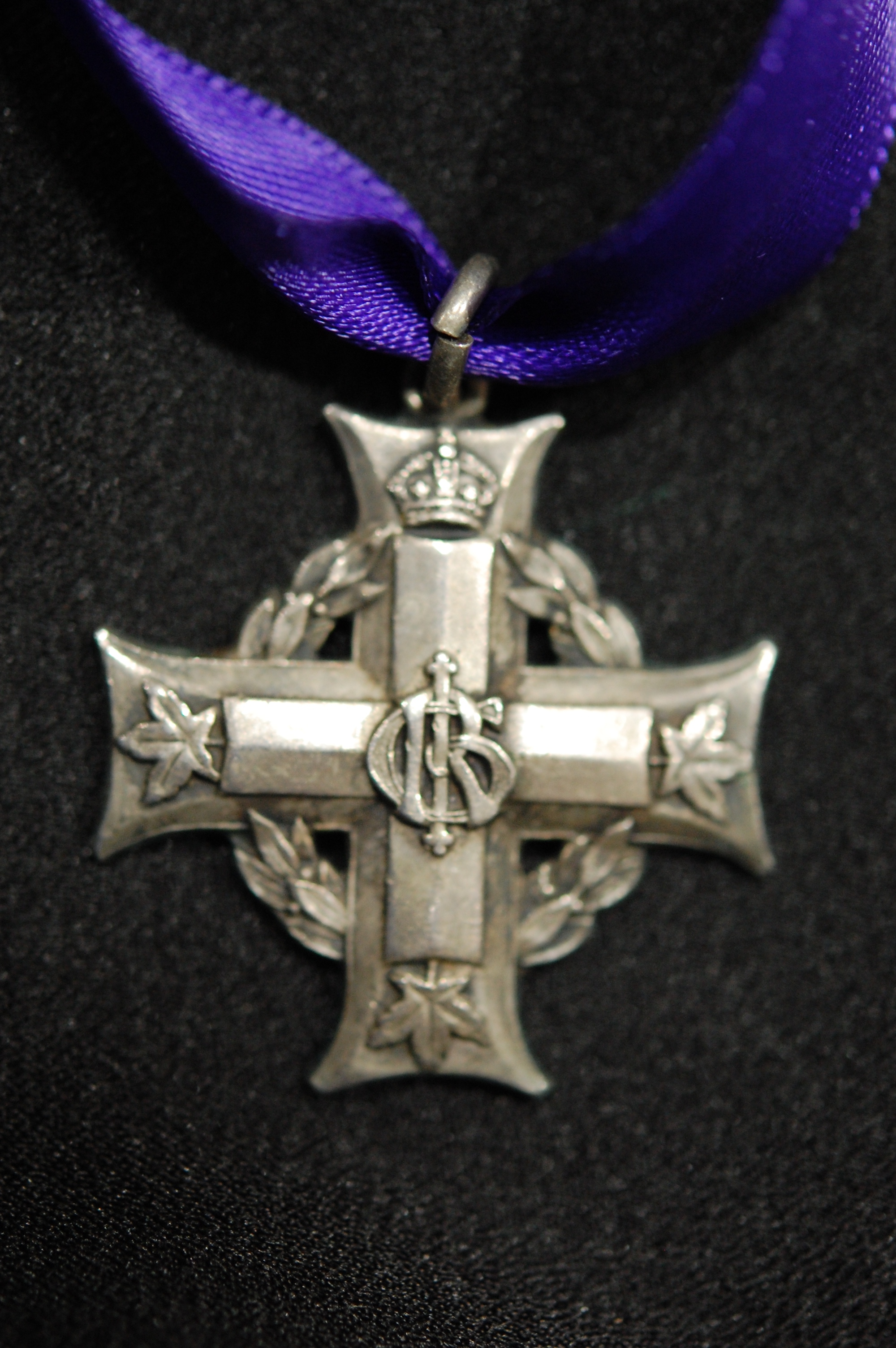 Memorial Cross (George V) (3035987 Pte D C  Lowrey) 3rd Bn (born North  Hastings County, Ontario) KIA October 13, 1918
