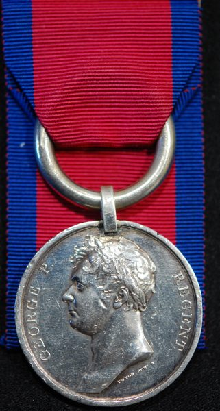 Canada General Service medal clasp Fenian Raid 1870 to Pte R